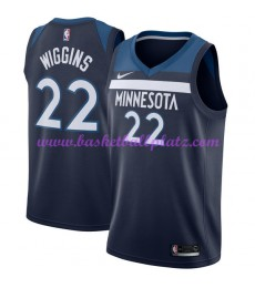 Minnesota Timberwolves Trikot Herren 2018-19 Andrew Wiggins 22# Icon Edition Basketball Trikots NBA ..